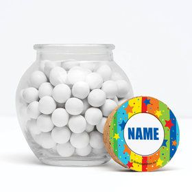 """A Year To Celebrate Personalized 3"""" Glass Sphere Jars (Set of 12)"""