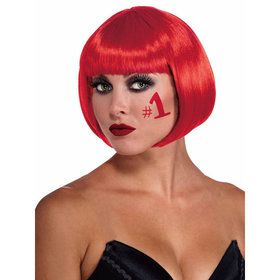 Adult Bob Red Wig