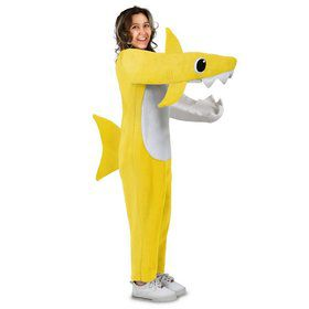 Adult Chompin' Baby Shark Costume with Sound Chip