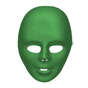 Adult Green Face Mask