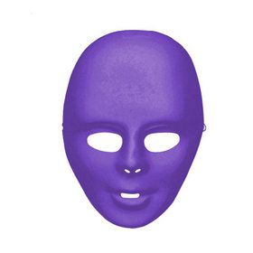 Adult Purple Face Mask