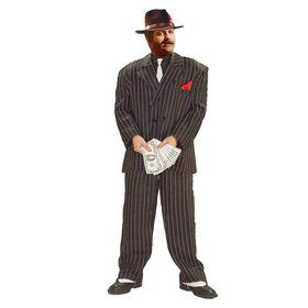 Adult XL Chicago Gangster Costume
