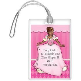 African American Princess Personalized Luggage Tag (each)