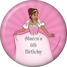 African American Princess Personalized Magnet (each)