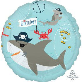 Ahoy Birthday Foil Balloon