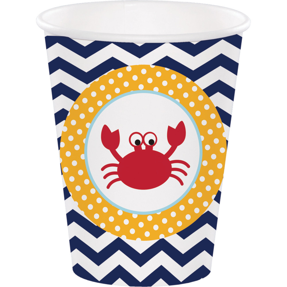 Ahoy Matey 9 Oz Cups (8 Count) BB377226