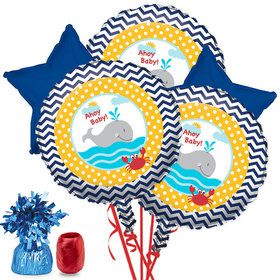 Ahoy Matey Baby Shower Balloon Bouquet Kit
