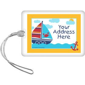 Ahoy Matey Personalized Bag Tag (Each)