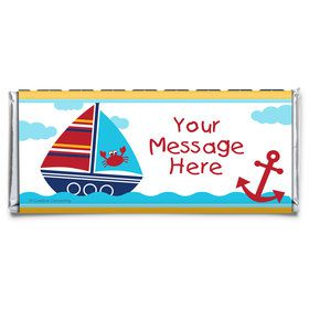 Ahoy Matey Personalized Candy Bar Wrapper (Each)