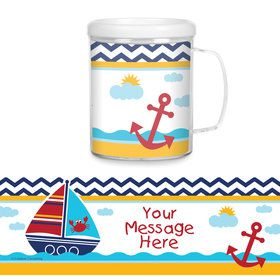 Ahoy Matey Personalized Favor Mug (Each)
