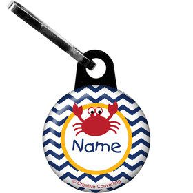 Ahoy Matey Personalized Zipper Pull (Each)