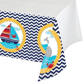 Ahoy Matey Plastic Tablecover