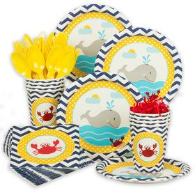Ahoy Matey Standard Tableware Kit (Serves 8)