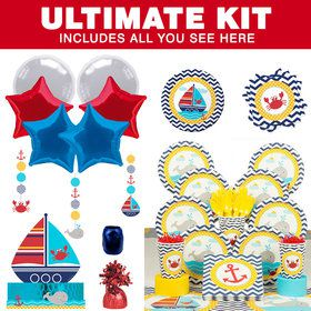 Ahoy Matey Ultimate Tableware Kit (Serves 8)