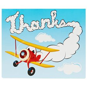 Airplane Adventure Thank-You Notes