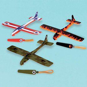 Airplane Glider Favors (12 Pack)