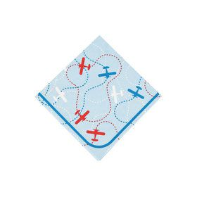 Airplanes Up & Away Beverage Napkins (16)