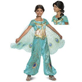 Aladdin Princess Jasmine Deluxe Kids Costume Kit