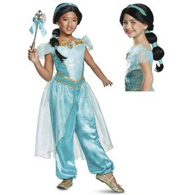 Aladdin Princess Jasmine Kids Costume Kit