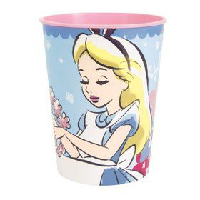 Alice in Wonderland 16oz Plastic Favor Cup (1)