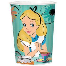 Alice in Wonderland 16oz Plastic Favor Cup (Each)