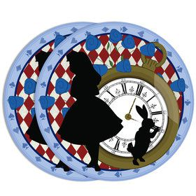 "Alice in Wonderland 7""Plate (8 Count)"