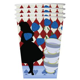 Alice in Wonderland 9oz Cups (8 Count)