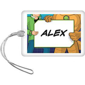 Alien Hero Personalized Bag Tag (each)