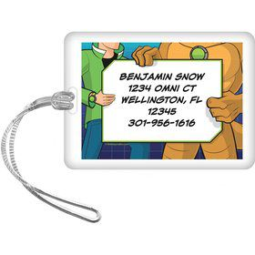 Alien Hero Personalized Luggage Tag (each)