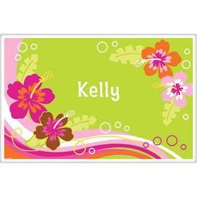 Aloha Luau Personalized Placemat (each)