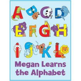 Alphabet Personalized Coloring Book (each)