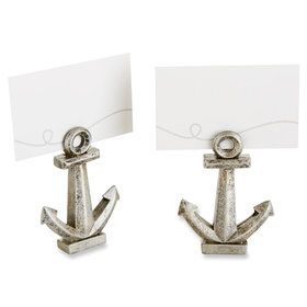 Anchor Place Card/Photo Holder (Set of 6)