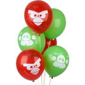 Angry Birds Balloons (6-pack)