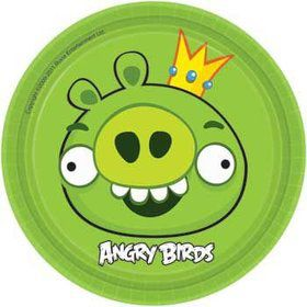 Angry Birds Cake Plates (8-pack)