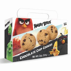 Angry Birds Chocolate Chip Cookies 2oz Box (Each)