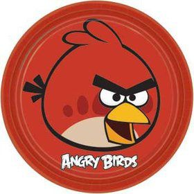Angry Birds Dinner Plates (8-pack)