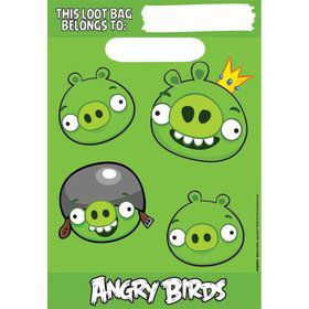 Angry Birds Loot Bag (8-Pack)