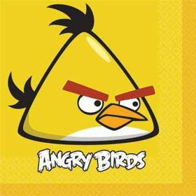 Angry Birds Napkins (16-pack)