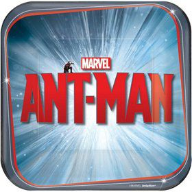 "Ant Man 7"" Cake Plates (8 Pack)"