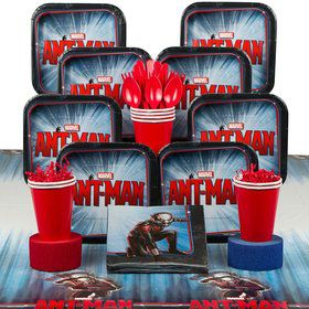 Ant Man Birthday Party Deluxe Tableware Kit Serves 8