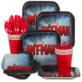 Ant Man Birthday Party Standard Tableware Kit Serves 8