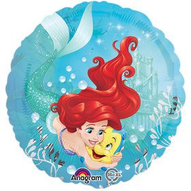 "Ariel Under The Sea 17"" Foil Balloon (Each)"