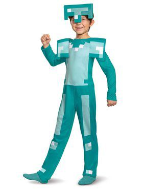 Armor Classic Jumpsuit Child Costume