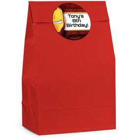 Armour Man Personalized Favor Bags (Pack of 12)