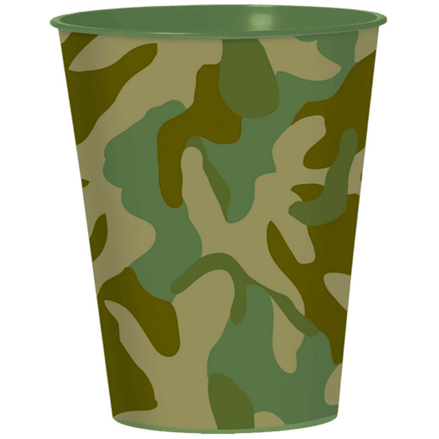 Army Camo Favor Cups BB42778