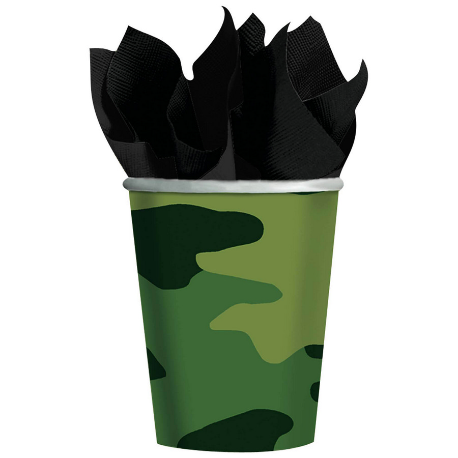 Army Party Cups (8-Pack) BB017177