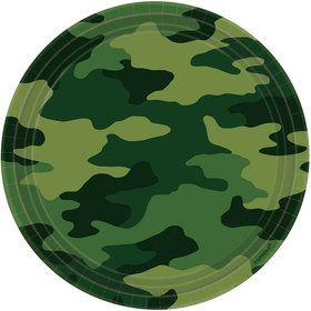Army Party Dinner Plates (8-pack)