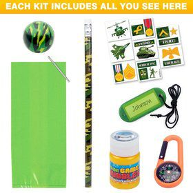 Army Party Favor Kit (for 1 Guest)