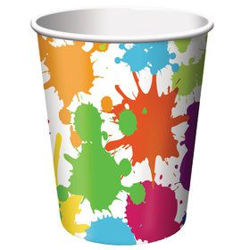 Art Party 9oz Cups (8 Count)