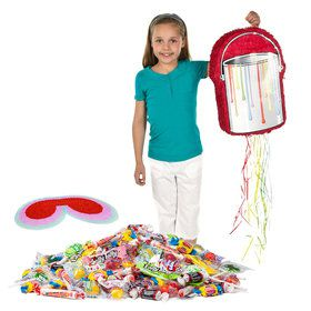 Art Party Pull String Pinata Kit